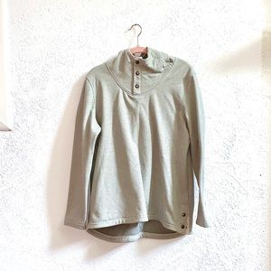 North face gray sweater hoodie size extra large XL